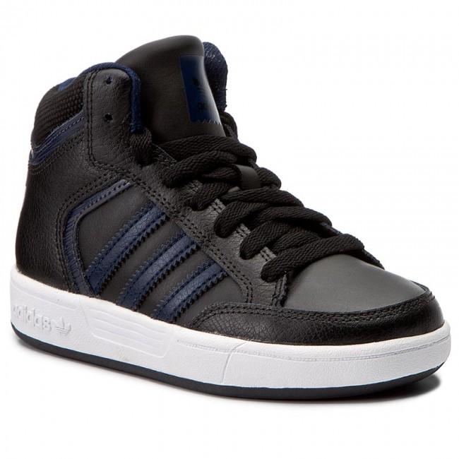 Shoes adidas - Varial Mid J BY4085 Cblack Conavy Dgsogr - Sneakers ... 70b3dce5f862