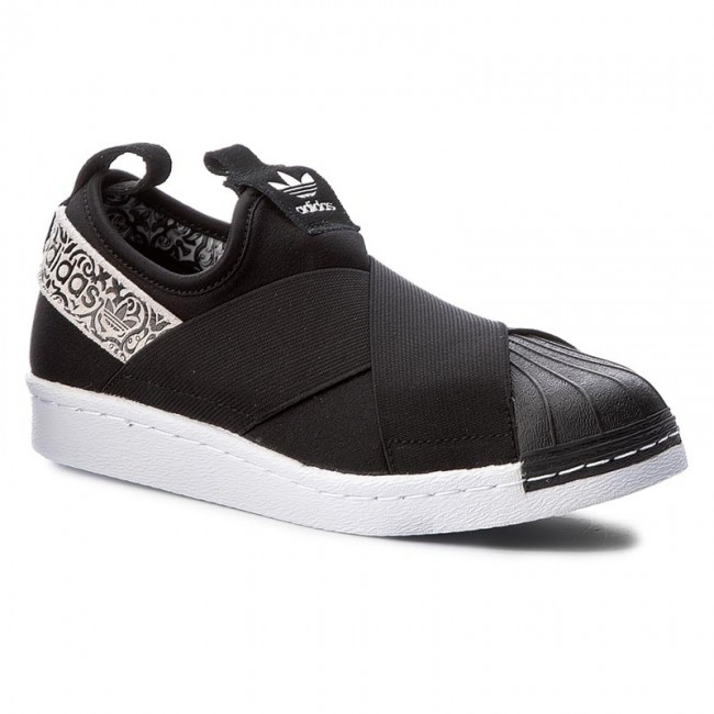 Shoes adidas - Superstar SlipOn BY9142 Cblack Cblack Ftwwht ... a4e4afb6b