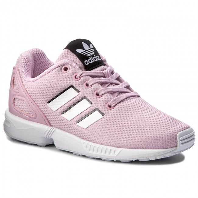 f0b43621c377 Shoes adidas - Zx Flux C BY9852 Fropnk Ftwwht Ftwwht - Laced shoes ...
