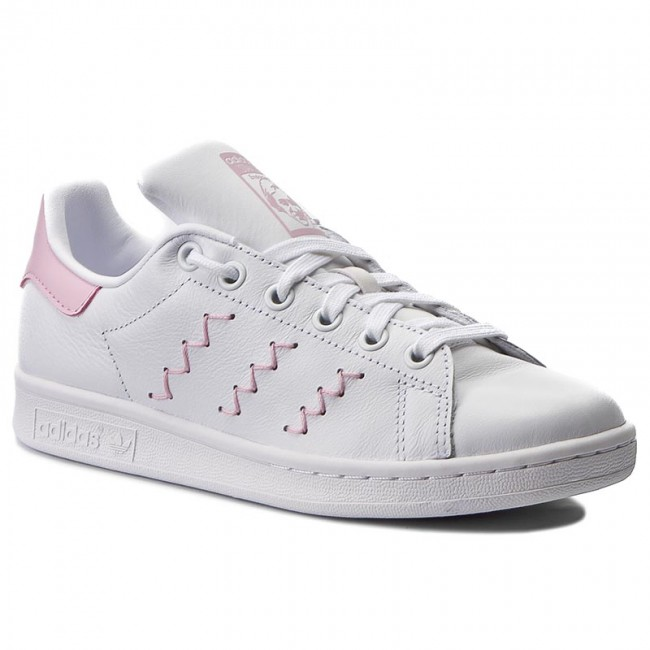 half off 7bad8 0c726 Shoes adidas - Stan Smith W BZ0401 Ftwwht Ftwwht Wobpnk