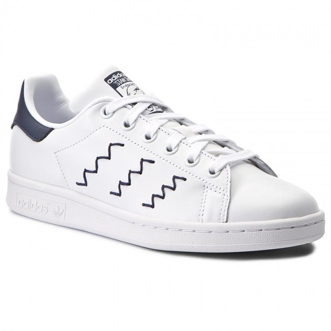 quality design a451a 7f2ee Shoes adidas - Stan Smith W BZ0402 Ftwwht Ftwwht Trablu - Sneakers ...