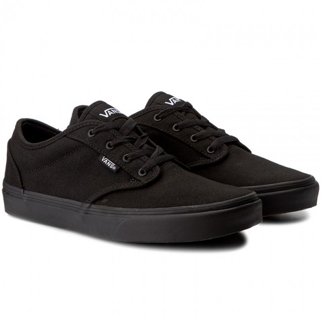 vans canvas black black
