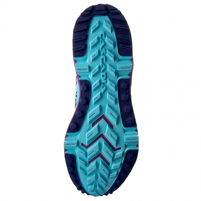 648e283baf3 Shoes BROOKS - Cascadia 12 120233 1B 467 Bluefish Clematis Blue Purple  Cactus Flower - Indoor - Running shoes - Sports shoes - Women s shoes ...