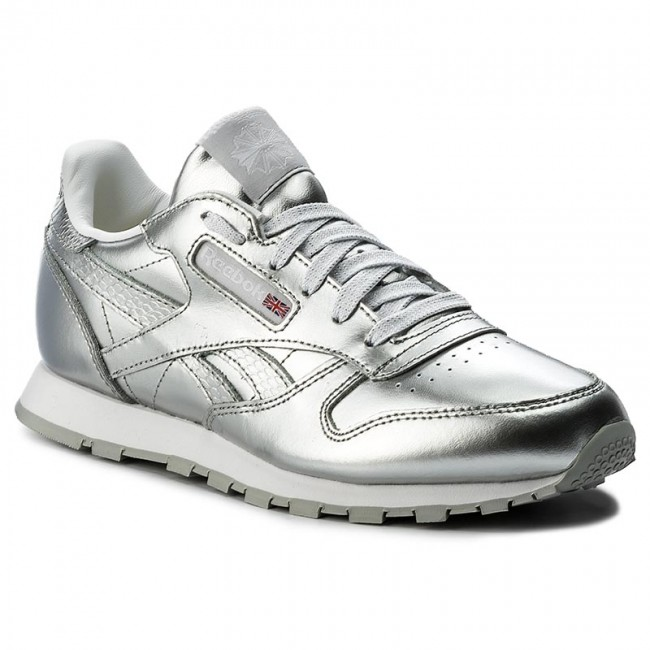098c8a8a75c3 Shoes Reebok - Classic Leather Metallic BS8945 Silver White ...