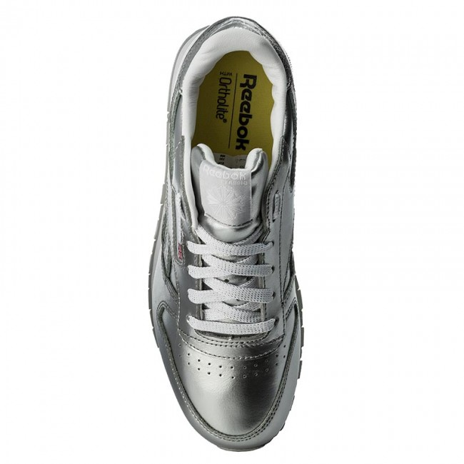 5d972219e49d Shoes Reebok - Classic Leather Metallic BS8945 Silver White - Sneakers -  Low shoes - Women s shoes - www.efootwear.eu