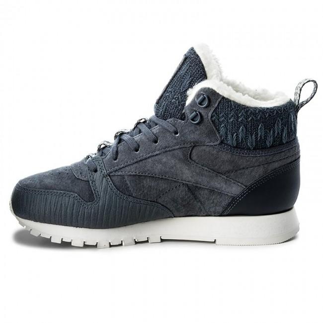 Lthr Bs6275 Cl Reebok Shoes Arctic Indigonvychlk Boot Smoky qEg7wZcwW