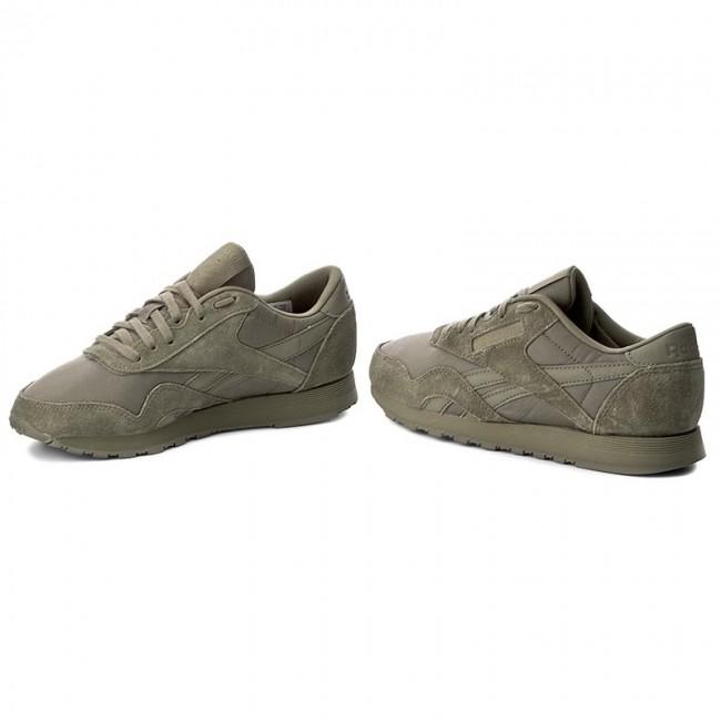 c96df81d276ab2 Shoes Reebok - Cl Nylon BS7759 Hunter Green Hunter Green - Sneakers ...