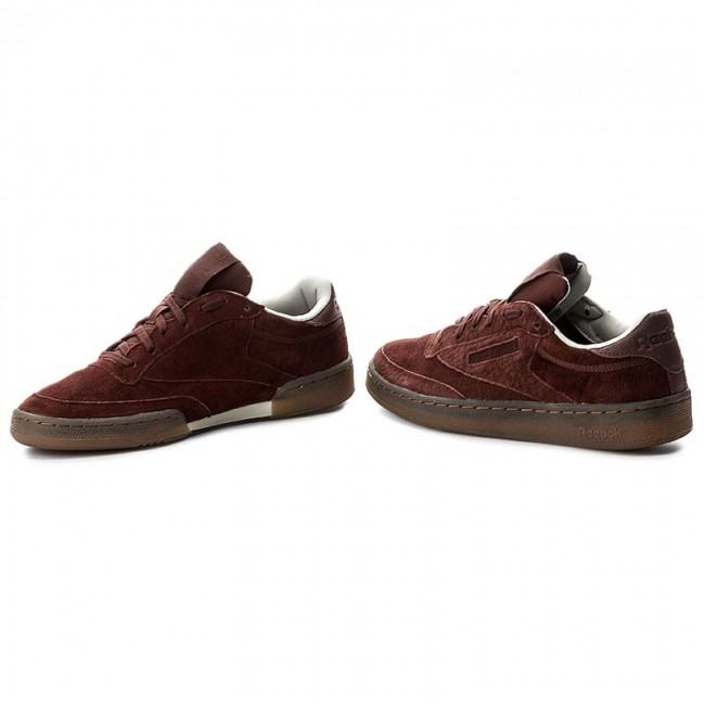 46017811026ad Shoes Reebok - Club C 85 G BS5093 Burnt Sienna Sand Stone - Sneakers ...