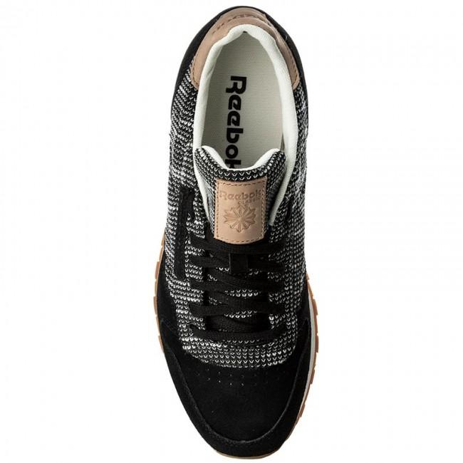 67eb941f0dbf Shoes Reebok - Cl Leather Ebk BS6236 Black Stark Gry Sand Stn - Sneakers -  Low shoes - Men s shoes - www.efootwear.eu