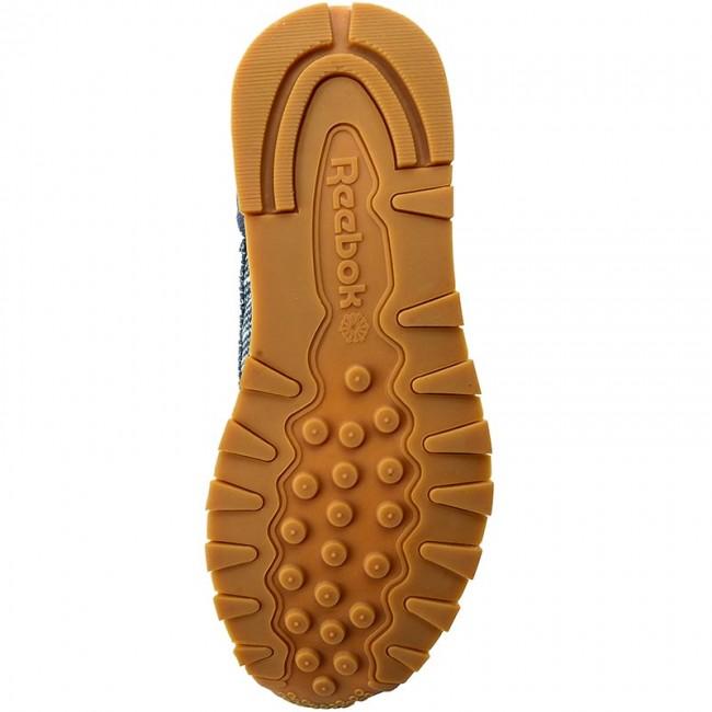 super popular a0109 9d13d Shoes Reebok - Cl Leather Ebk BS7851 Smoky Indigo Cloud Grey - Sneakers -  Low shoes - Men s shoes - efootwear.eu