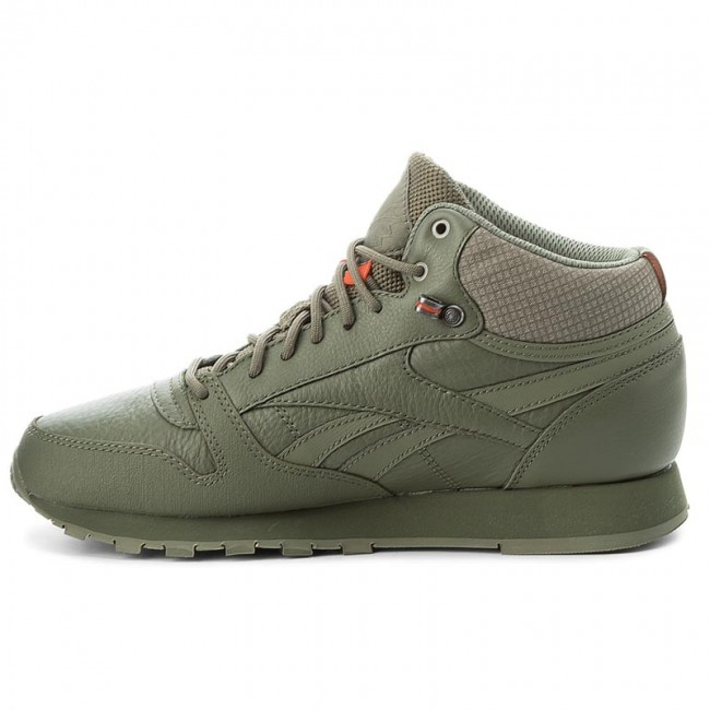Shoes Reebok Cl Leather Mid Twd BS8327 Hunter GreenStone