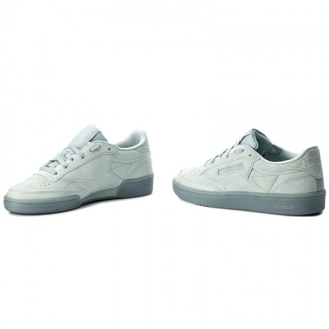 7b472bfffa7a4 Shoes Reebok - Club C 85 Lace BS6528 Seaside Grey White - Sneakers ...
