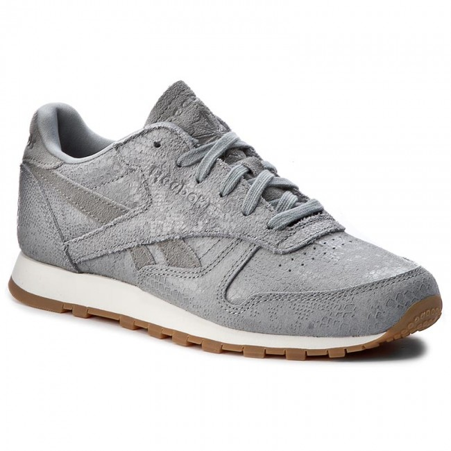 659bb39d76c0 Shoes Reebok - Cl Lthr Clean Exotics BS8228 Flint Grey Chalk Gum ...