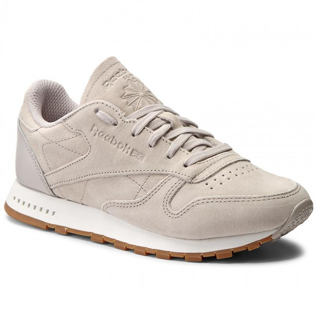 ... Shoes Reebok - Cl Leather Sg BS7893 Sand Stone/Chalk Gum