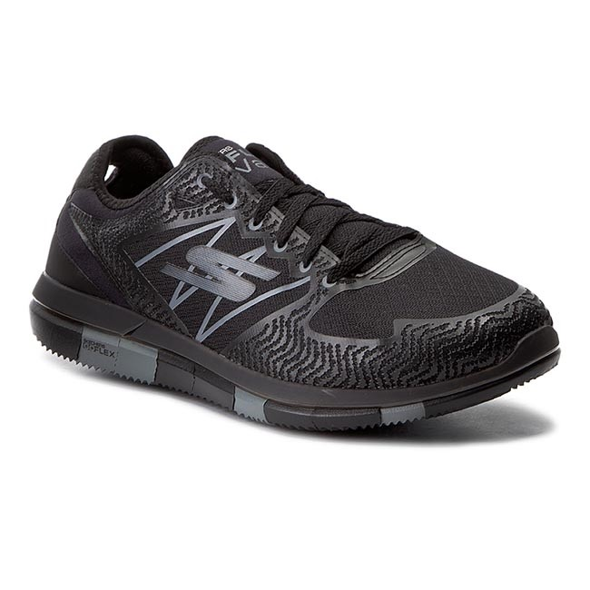 bf2cba9acc1 Shoes SKECHERS - Go Flex Aviator 54011 BKGY Black Grey - Fitness ...