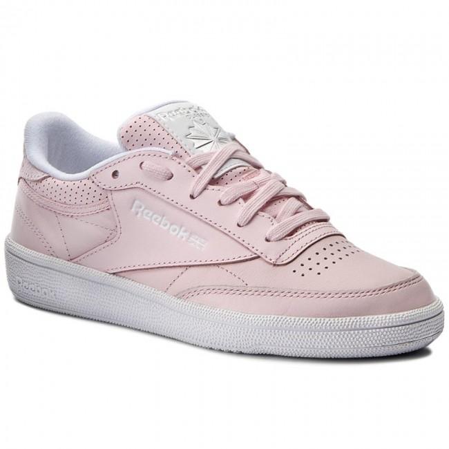 Shoes Reebok - Club C 85 Fbt BS8134 Pink Wht Silver Skull Gry ... 1e968c492