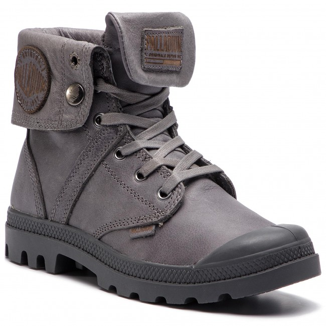 Hiking Boots PALLADIUM - Pallabrouse Baggy L2 73080-021-M French Metal 73ff5c612bc
