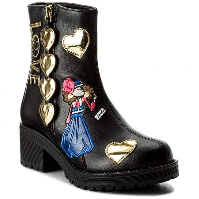 Moschino Love Nero High Ja24125g04jf0000 Boots And y8wOm0vNnP