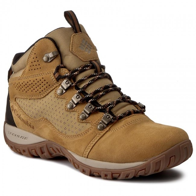 Trekker Boots COLUMBIA - Peakfreak Venture Mid Suede Wp BM2815  Curry Ancient Fossil 373 71f8844372
