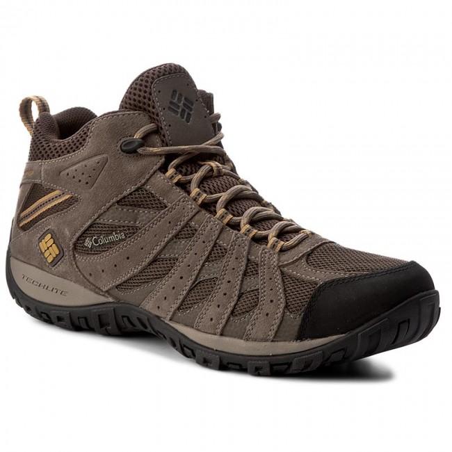 ec5d0f7200c0 Trekker Boots COLUMBIA. Redmond Mid Waterproof BM3939 Cordovan Dark Banana  231