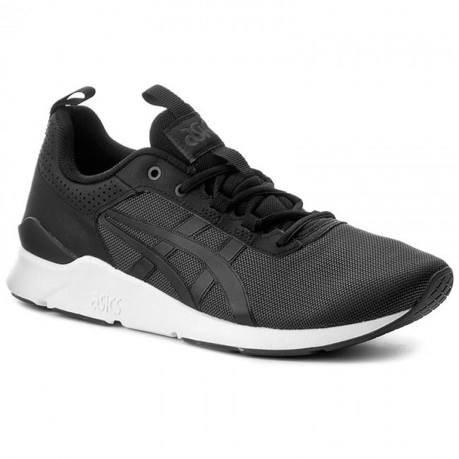 Asics Tiger Zapatos Para Hombre De Gel Corredor Lyte Funcionamiento Opinión Negro nsAuM