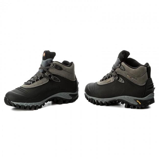Trekker Boots MERRELL - Thermo 6 Waterproof J82727 Black - Trekker ... 31b84d704c5