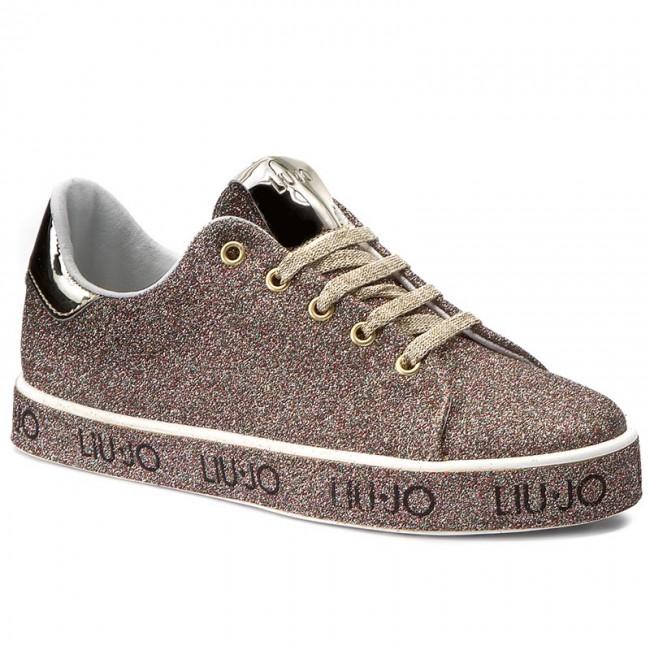 Sneakers LIU JO - Sneaker Leona S67237 T9575 Glitter Multicolor A6505 9b094b3364a