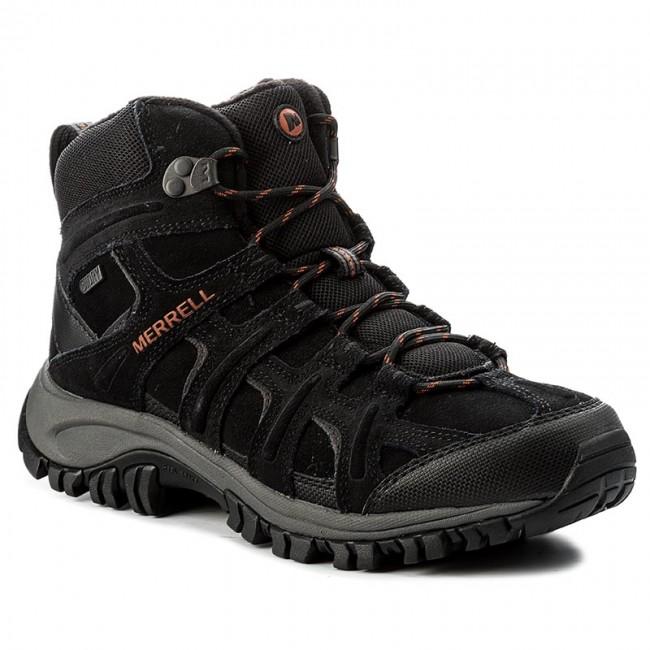 Trekker Boots MERRELL - Phoenix 2 Mid Thermo Wtpf J09599 Black