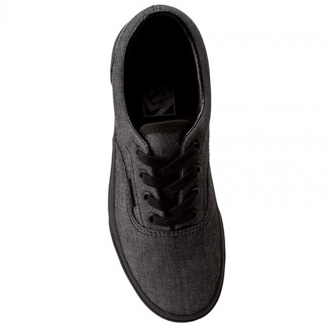 a95028f003 Plimsolls VANS - Era VN0A38FROFY (Mono Chambray) Black Blk - Sneakers - Low  shoes - Women s shoes - www.efootwear.eu