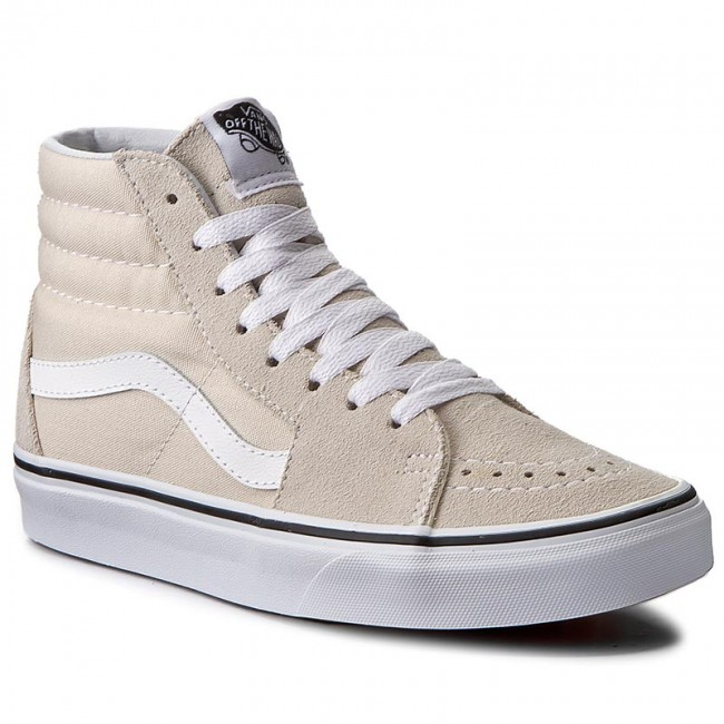 vans sk8 hi birch true white