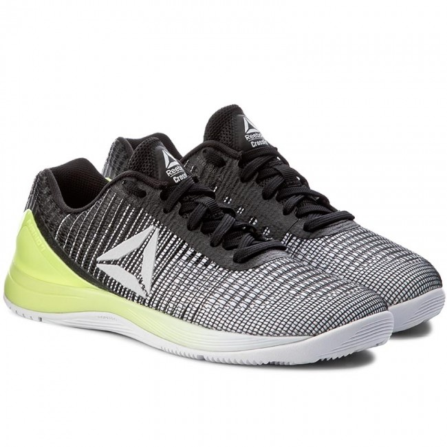 Reebok Womens Nano 7 Crossfit Shoes White Skull Grey