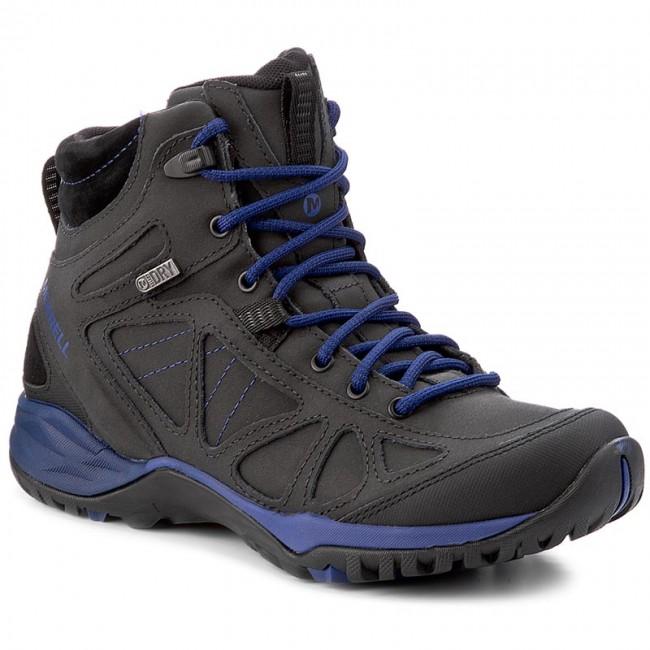 Trekker Boots MERRELL  Siren Q2 Mid Wtpf J06142 BlackMazarine Bl  Trekker boots  High boots and others  Womens shoes       0000199856846