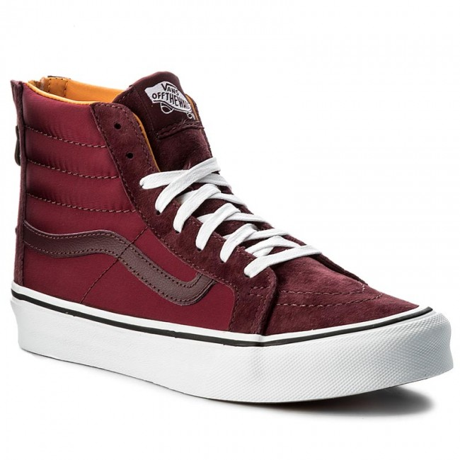 8e13c7d0cb885e Sneakers VANS - Sk8-Hi Slim Zip VN0A38GROC7 (Bom Bom) Port Royale Tw ...