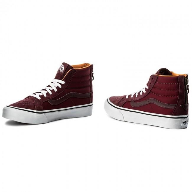 cecfa557f0761f Sneakers VANS - Sk8-Hi Slim Zip VN0A38GROC7 (Bom Bom) Port Royale Tw ...