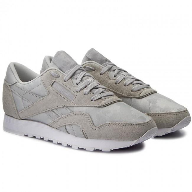 7abe49c22a14 Shoes Reebok - Cl Nylon BS7758 Hs-Skull Grey White - Sneakers - Low shoes -  Women s shoes - www.efootwear.eu