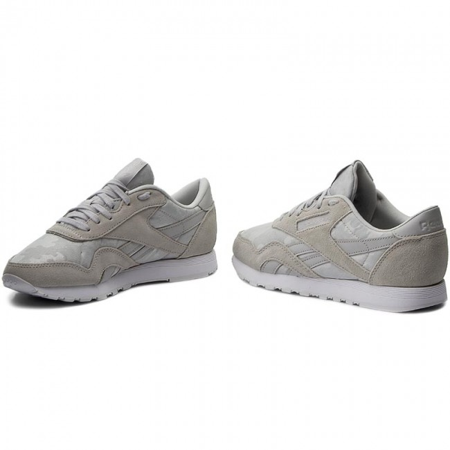 7ff49f21612 Shoes Reebok - Cl Nylon BS7758 Hs-Skull Grey White - Sneakers - Low ...