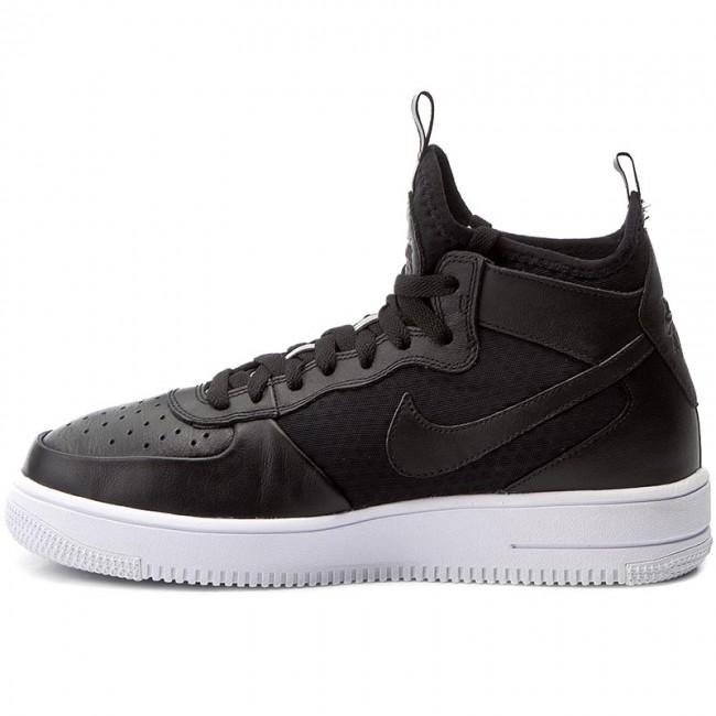 Damskie Nike WMNS Air Force 1 Mid 07 001 czarny