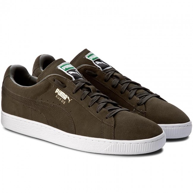 Sneakers PUMA Suede Classic + 356568 65 Forest NightWhite
