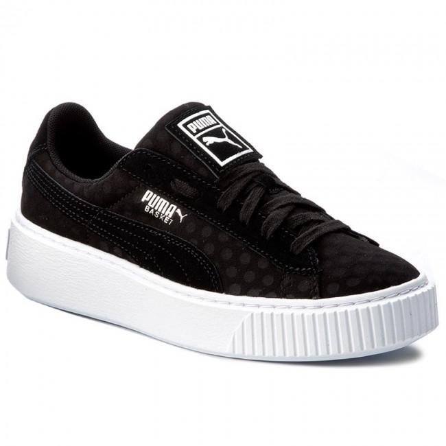 Sneakers PUMA - Basket Platform De Wn's 364102 01 Puma Black/Puma Black