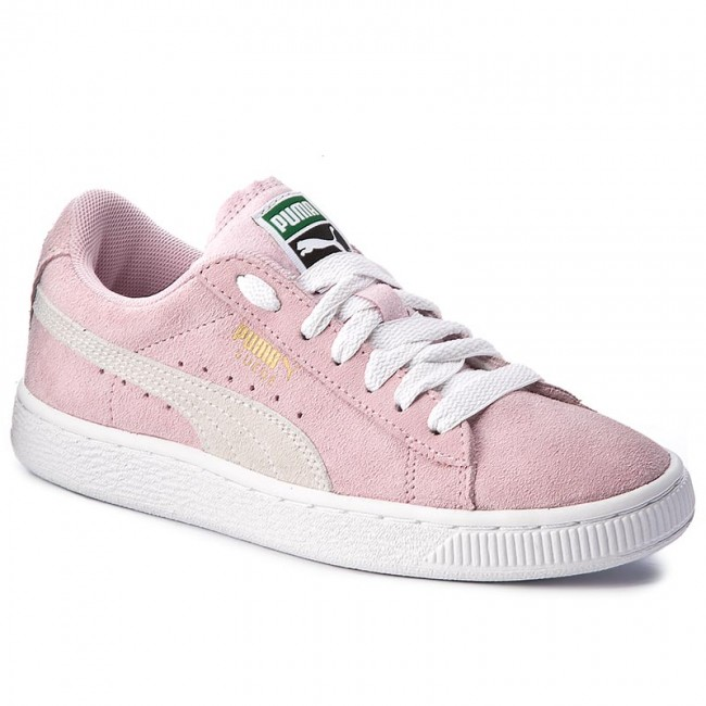 8f39468ffed75a Sneakers PUMA - Suede Jr 355110 30 Pink Lady White Team Gold ...