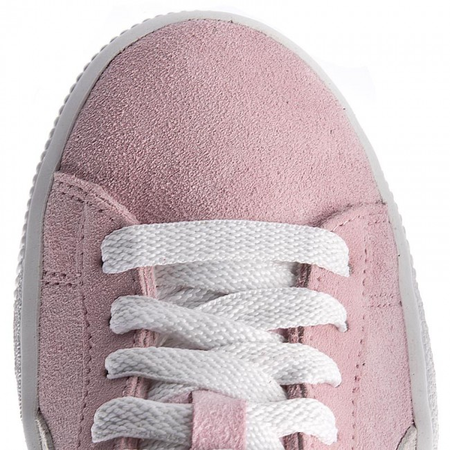 9ad9ff79b5a10a Sneakers PUMA - Suede Jr 355110 30 Pink Lady White Team Gold - Sneakers -  Low shoes - Women s shoes - www.efootwear.eu