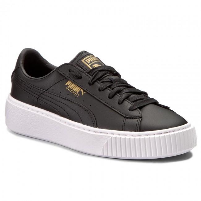 f48bac29c6915d Sneakers PUMA - Basket Platform Core 364040 03 Puma Black Gold