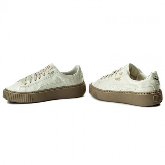 6eb3c4f7dc7fa7 Sneakers PUMA - Basket Platform Patent Wn s 363314 05 Marshmallow  Marshmallow