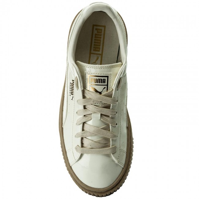 1bb0182dd80da9 Sneakers PUMA - Basket Platform Patent Wn s 363314 05 Marshmallow  Marshmallow - Sneakers - Low shoes - Women s shoes - www.efootwear.eu