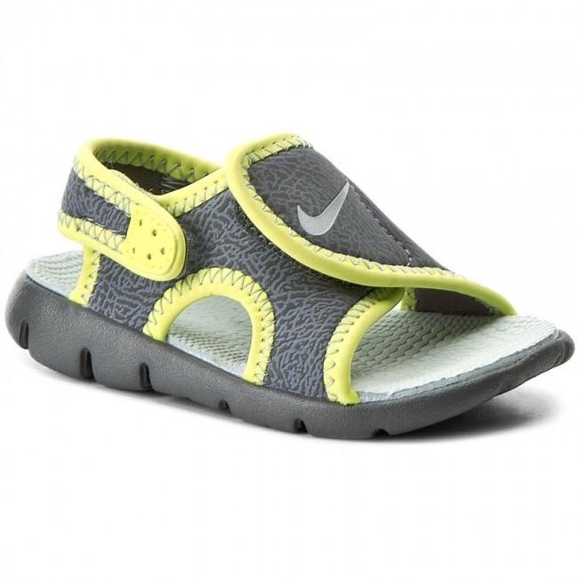 503a2790c Sandals NIKE - Sunray Adjust 4 (Td) 386519 013 Dark Grey Wolf Grey ...
