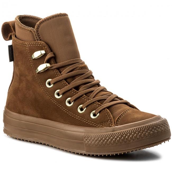 5553c83a0739 Sneakers CONVERSE - Ctas Wp Boot Hi 557946C Brown Brown Brass ...