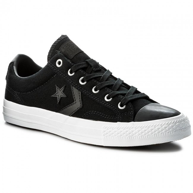 Sneakers CONVERSE - Star Player Ox 157761C Black/Black/White