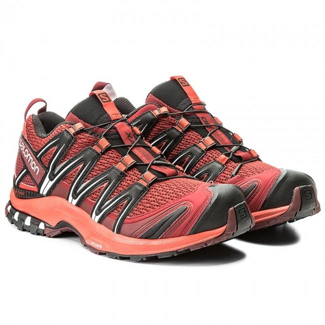 Shoes SALOMON Xa Pro 3D 398504 27 V0 Red DalhiaFiery RedBlack