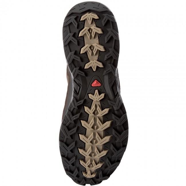 Trekker Boots SALOMON X Ultra Ltr Gtx GORE TEX 366996 26 V0 Absolute Brown XBlackNavajo