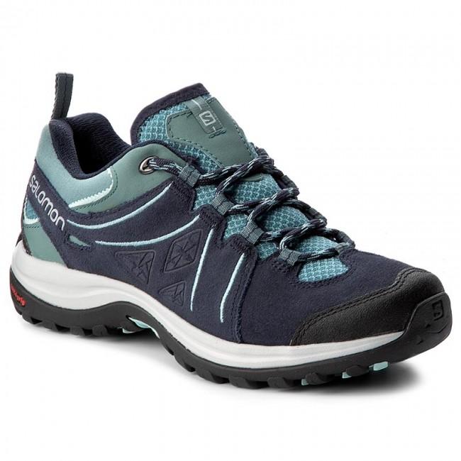 Salomon ELLIPSE 2 - Hiking shoes - artic/navy blazer/eggshell blue eTxC1NXgQ